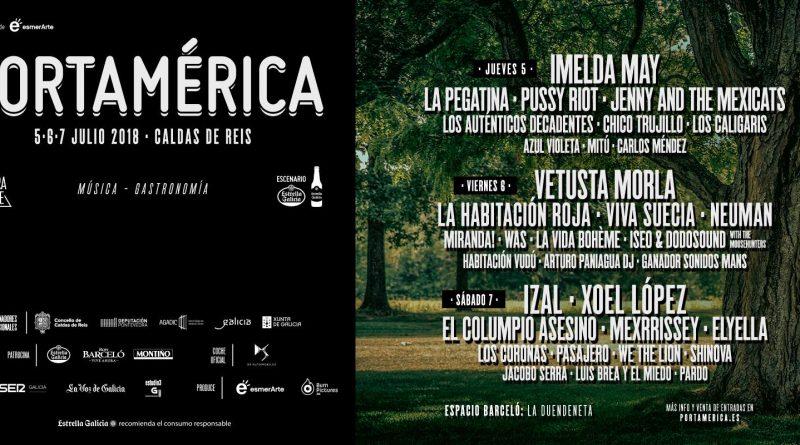 portamerica 2018 cartel completo y por dias