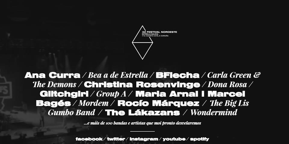 festival noroeste estrella galicia apuesta por las mujeres