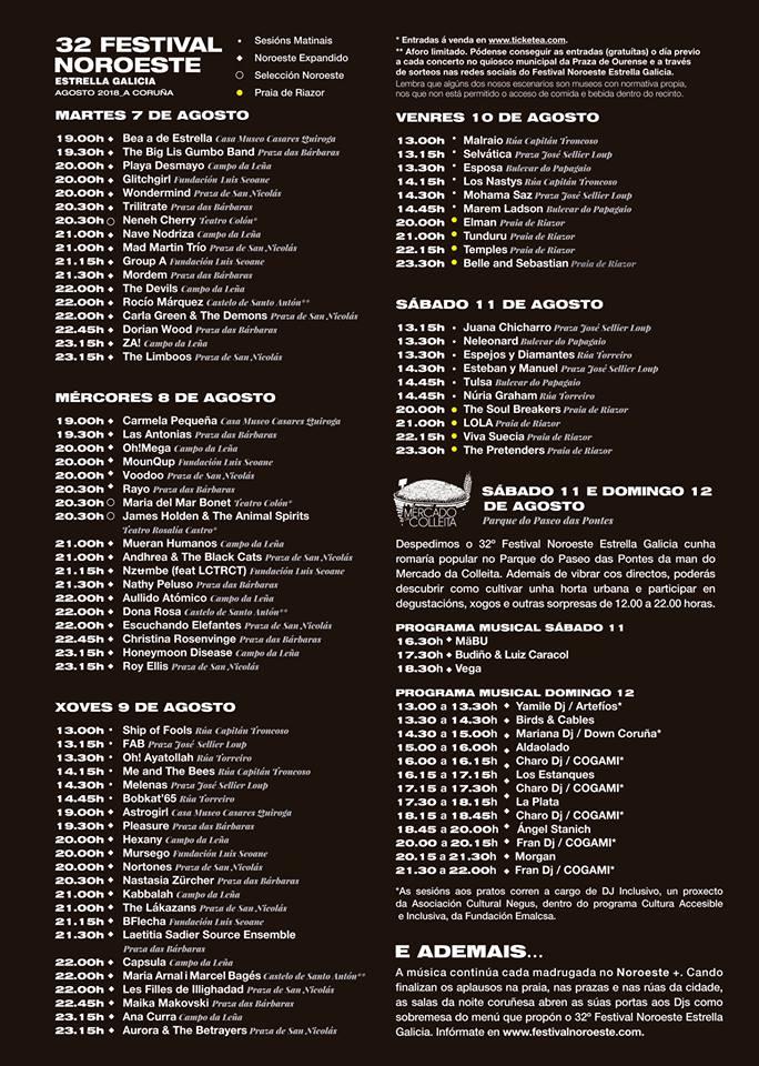 horarios_festival_noroeste_coruña