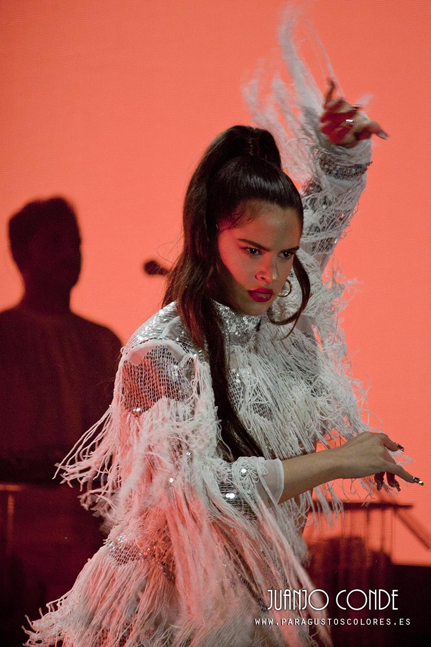 rosalia el mal querer malamente concierto santiago 2018