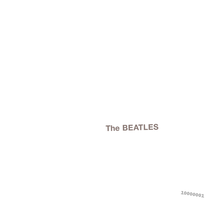 the beatles white album 1968