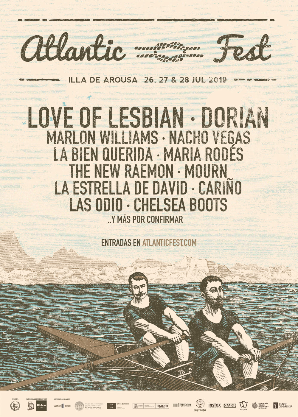 Dorian, The New Raemon, Mourn... éstas son las nuevas incorporaciones al Atlantic Fest