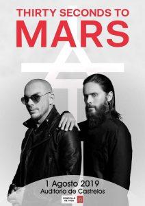 Thirty Seconds to Mars @ Auditorio de Castrelos, Vigo