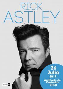 Rick Astley @ Auditorio de Castrelos, Vigo